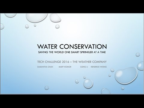 Water Conservation with Apache Quarks, Raspberry Pi and IBM Streams