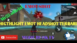 Moment emot headshot free fire