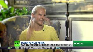 Darya Klishina 'enjoys attention' and eyes long jump world record
