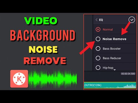 How To Remove Background Noise From Video & Audio In Kinemaster | Remove YouTube Video Noise Android