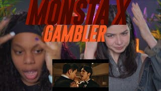 MONSTA X 몬스타엑스 'GAMBLER' MV REACTION