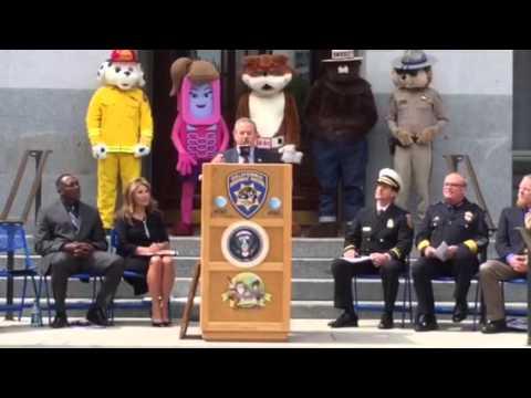 California State Legislative 911 Heroes Awards press conference (5/14/15)