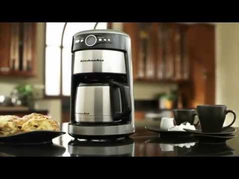 how to clean kitchenaid 12 cup coffee maker