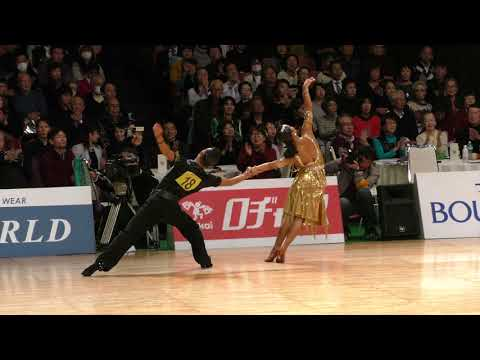 4K STEREO | 2018 WDSF International Open Latin in 20th Tokyo Open Championships | Final All
