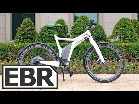 Smart Ebike Video Review - Electric Bike From Smart Mercedes Benz