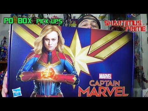 Captain Marvel + BBTS Unboxing + PO Box Pick Ups 2:13:19