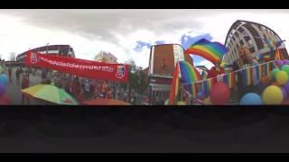 Växjö Pride in 360 degrees