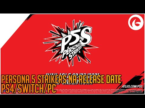 Persona 5 Strikers North American Announcement Trailer (Switch/PS4/PC)