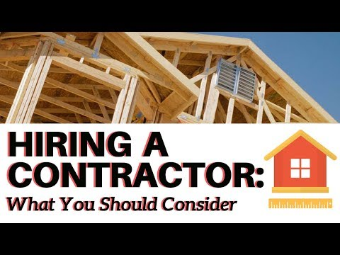 hire a contractor