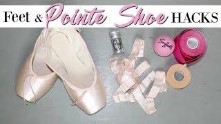 Feet & Pointe Shoe HACKS | Kathryn Morgan