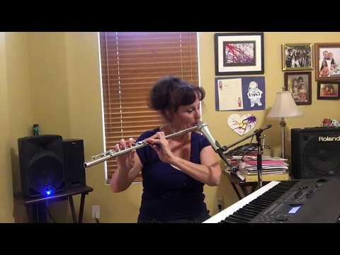 Colour My World is Written by James Pankow Piano Vocal Flute Cover by Tyna J Phipps