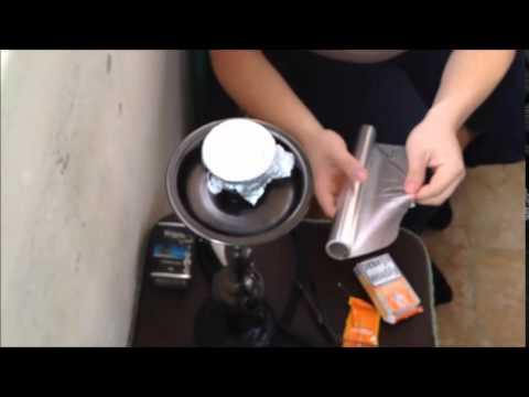 Кальян на воде/Дымный кальян/Кокосовый уголь/ Как готовить кальян/ Кальян в домашних условиях.
