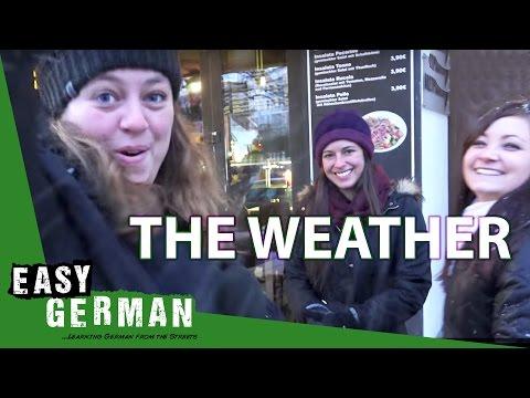 giáo trình Học Tiếng Đức A1- Bài 11: Thời tiết