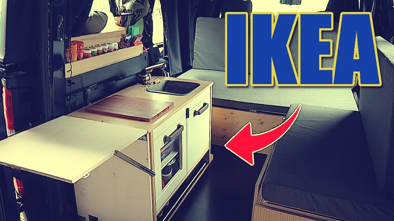 IKEA KÜCHE im Auto || MINI CAMPER DACIA DOKKER || - YouTube