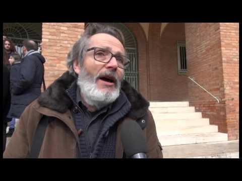 Corteo di studenti ed  insegnanti del Liceo Musicale di Arezzo