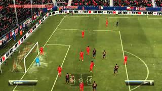 GamePlay Fifa 2014 | Bayern Munich VS FC Barcelona 4-1 | Latino | Completo| HD