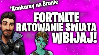GIVEAWAY on NOKTURNO 106 and GRABARZ 106 Fortnite rescuing the world! Crafty! WEAPONS for DONATE