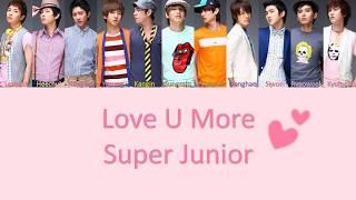 Super Junior Love U More Lyrics