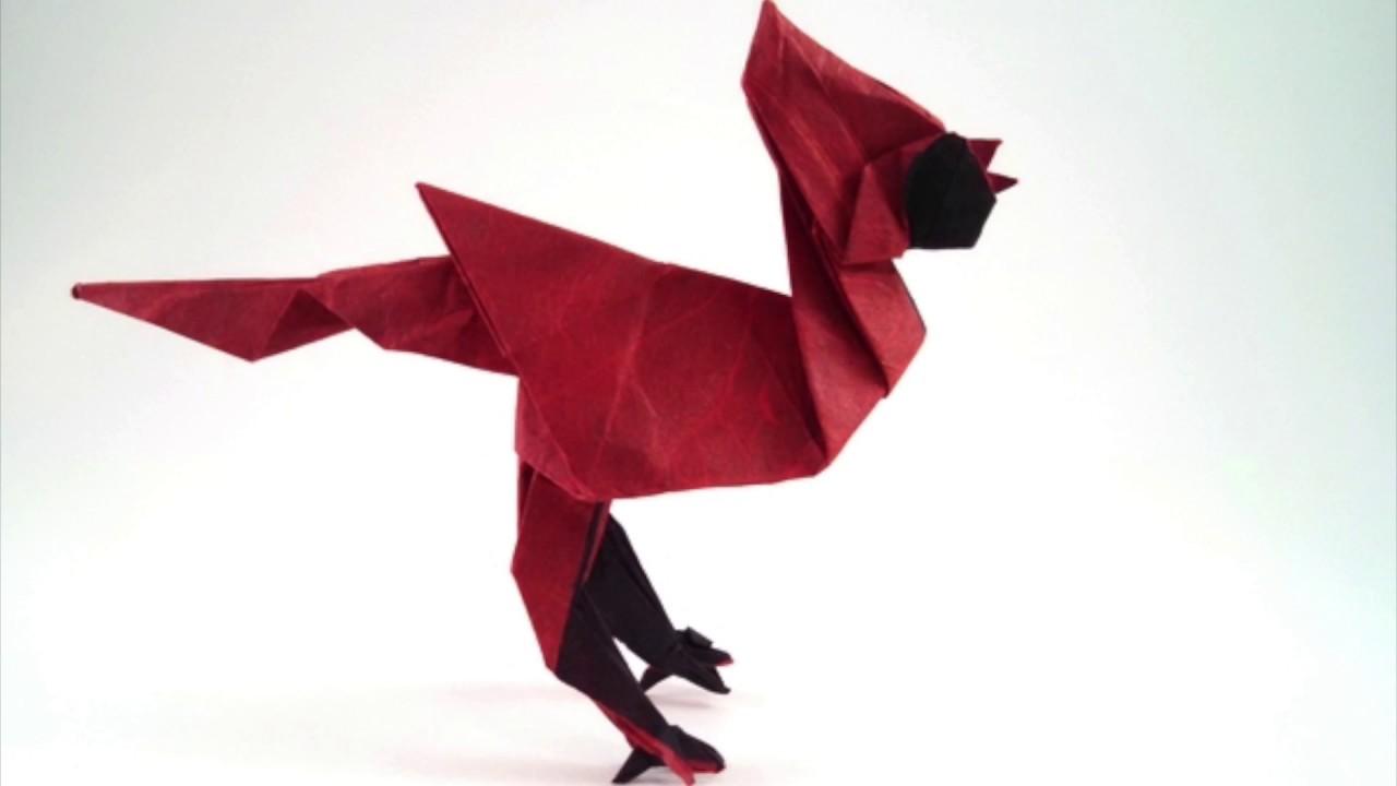Cardinal Bird Origami Diagram Diy Enthusiasts Wiring Diagrams Advanced Fox Instructions Gif By Sebastien Limet Youtube Rh Com Make Easy Eagle