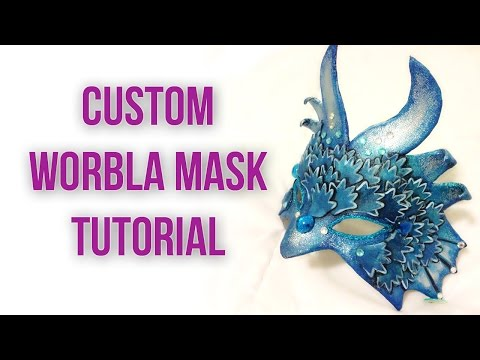 Tutorial: Making a Custom Fit Mask from Worbla
