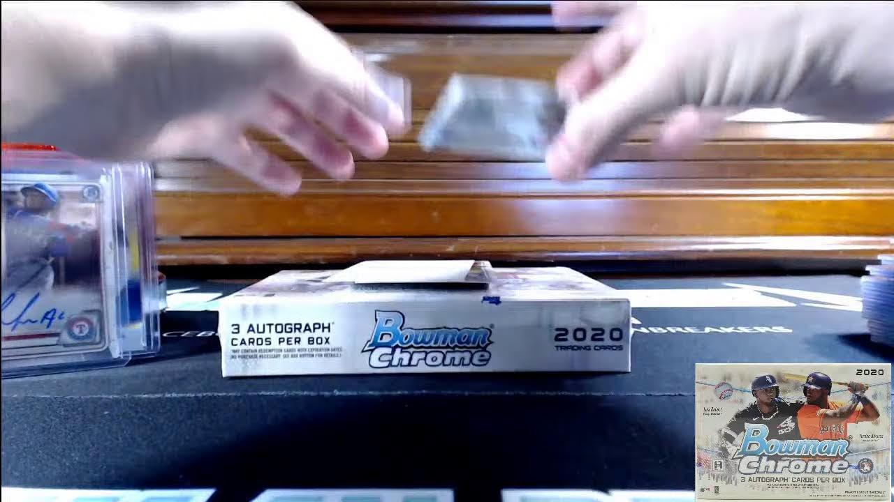 Download 2020 Bowman Chrome Baseball 12-Box HTA Jumbo Case #4 PYT