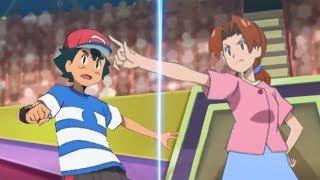 Pokemon Battle USUM: Ash Vs Delia (Pokemon Mom and Son Face Off!)