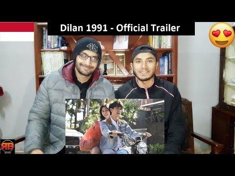 Foreigner Reacts To: Official Trailer Dilan 1991 | 28 Februari 2019 di Bioskop