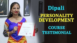 Personality Development Course in Chandigarh - Dipali Testimonial at IELTS Learning