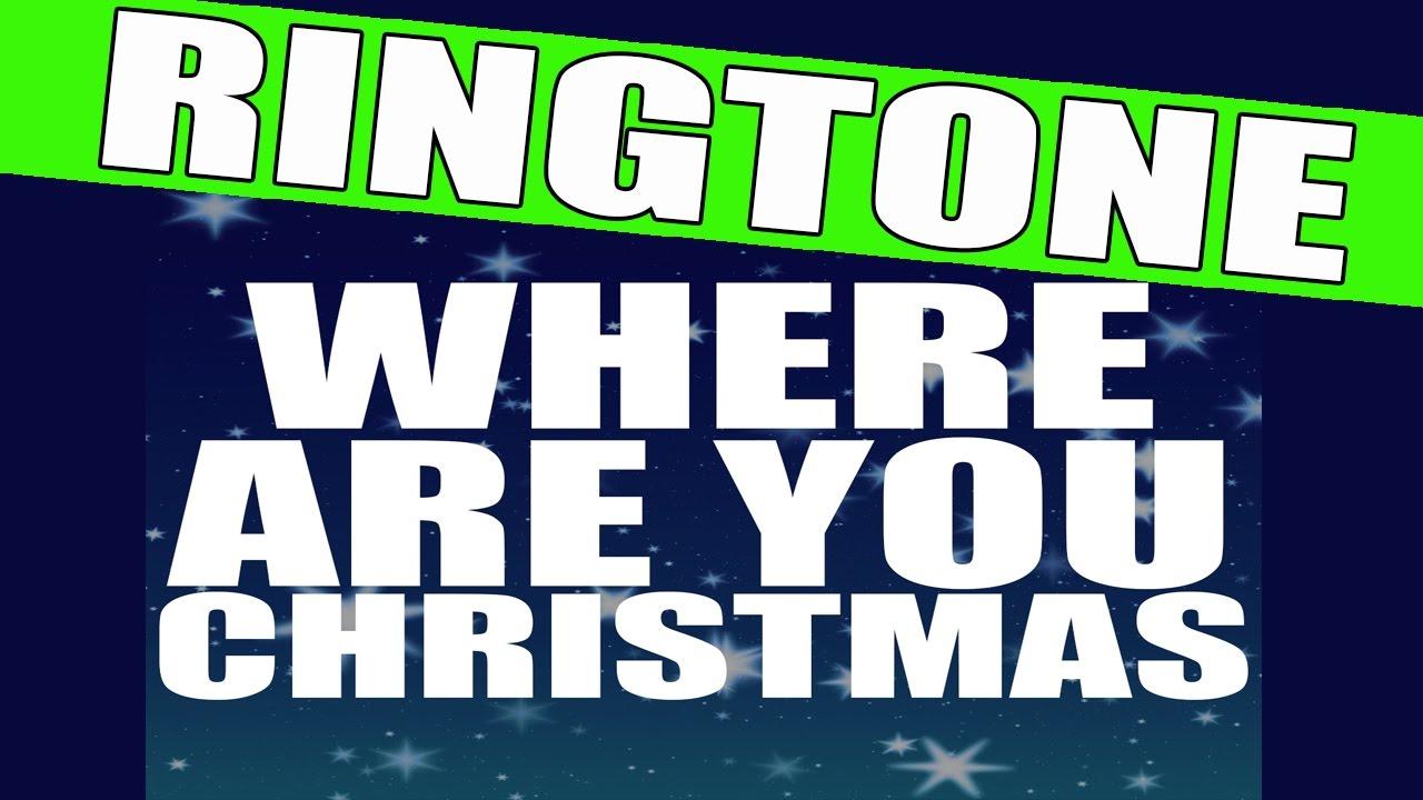 Faith Hill Where Are You Christmas Ringtone - YouTube