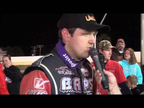 Port Royal Speedway All Star Sprint Car Victory Lane 9-13-15