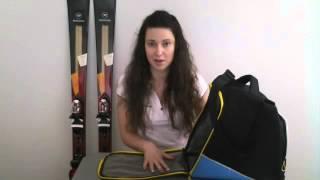 Как выбрать сумку для горнолыжных ботинок - Salomon EXTEND GEAR BAG с секретом - обзор