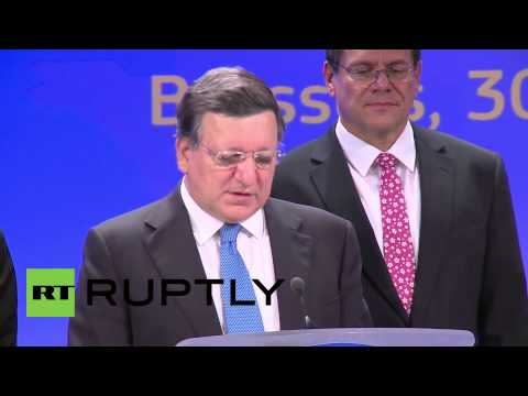 Belgium: 'Now no reason for people to stay cold this winter' - Barroso on Russia-Ukraine gas deal