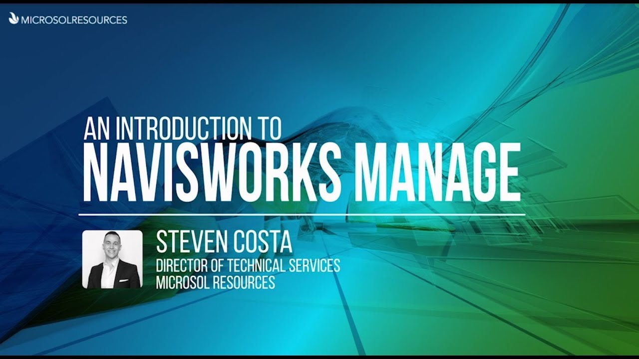 An Introduction to Navisworks Manage