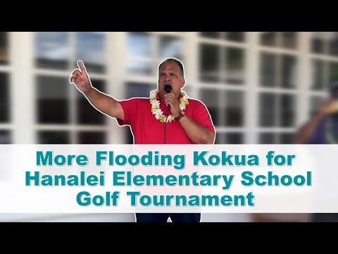 More Flooding Kokua for Hanalei Elementary School Golf Tournament