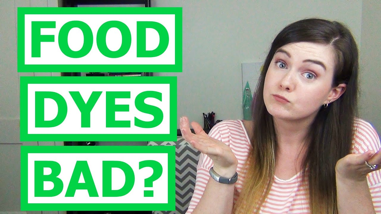 Are Food Dyes Bad for You? - YouTube