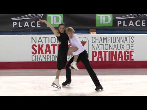 BEDARD | WADDELL - Junior Free Dance Program - CTNSC17
