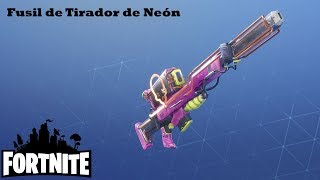 It goes through it all / Neon Shooter's Rifle Fortnite: Saving the #264 World
