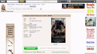 Transformers 3: Dark of the Moon Full Movie Free Download