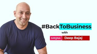 #BackToBusiness with Sirona Hygiene's Deep Bajaj