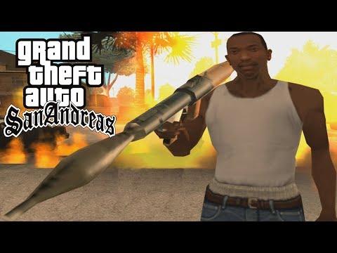 GTA San Andreas - ROCKET LAUNCHER ONLY Speedrun