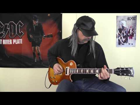 Krokus - Flying Through The Night cover by RhythmGuitarX