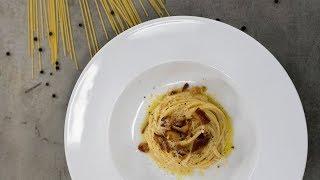 TETOVANÝ CHEF: Špagety carbonara