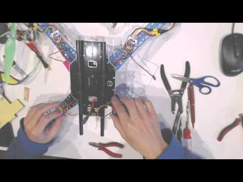 How to build a good quality well flying drone from scratch motors and propellersPart 4