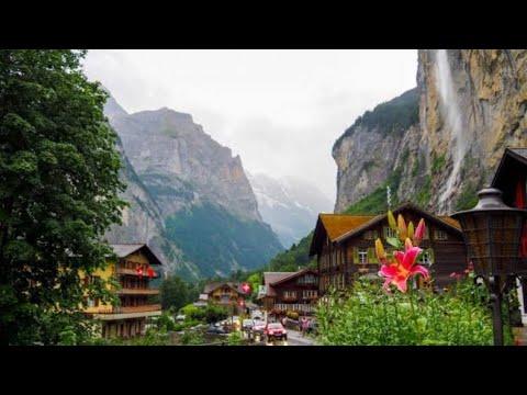 #3 A MAIOR CACHOEIRA DA EUROPA, EU SUBINDO LÁ./LAUTERBRUNNEN Suíça