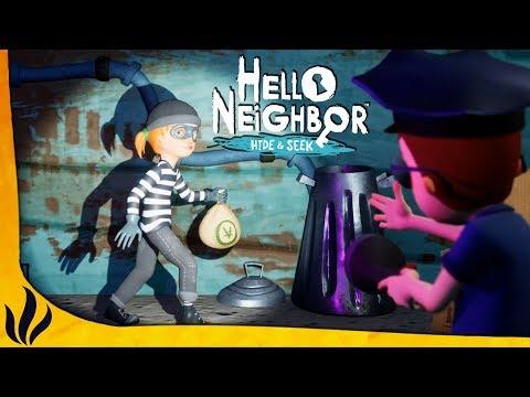 ON JOUE AU POLICIER ET AU VOLEUR ! (Hello Neighbor: Hide and Seek #2)