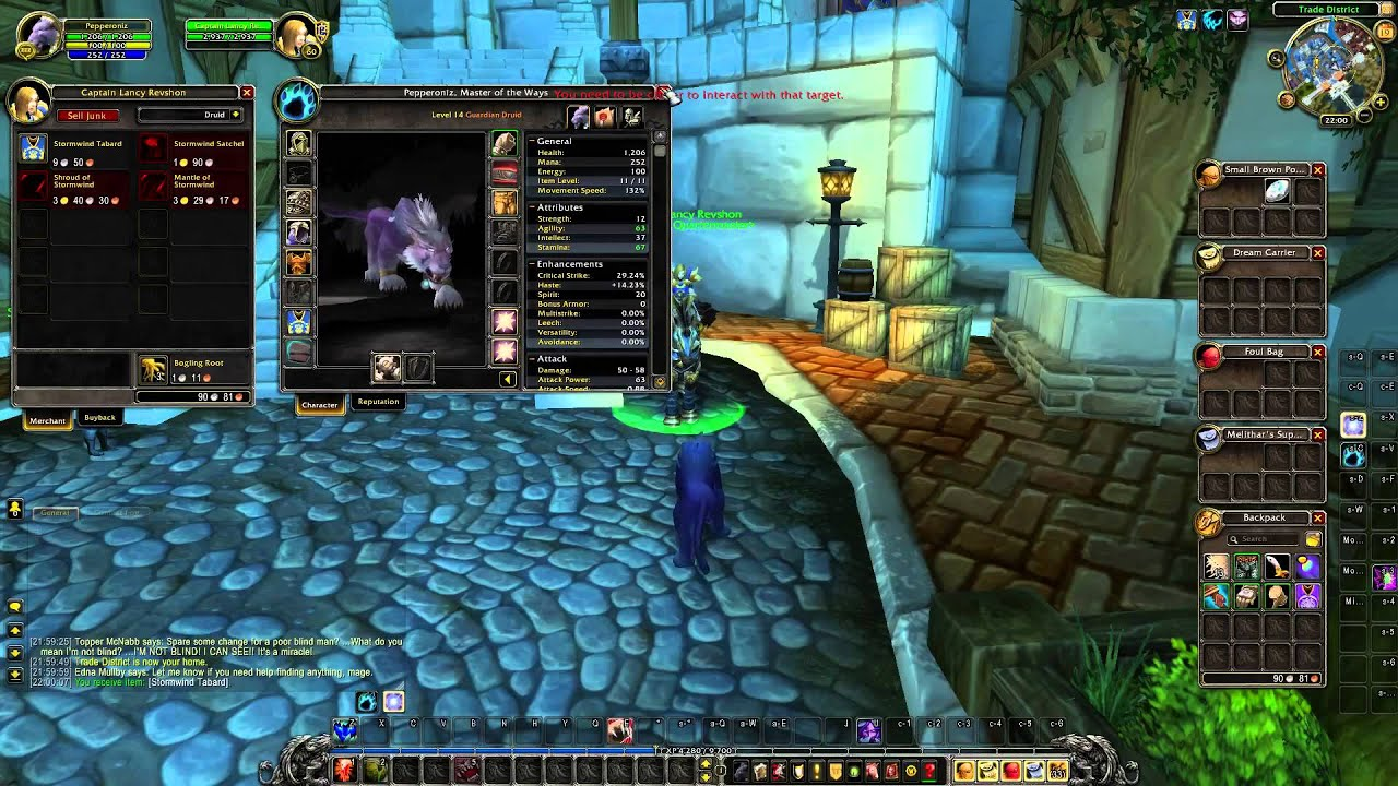 Where to buy Stormwind Tabard - World of Warcraft - YouTube