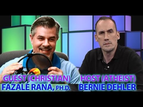 Does New Biological Science Show God's Existence? (Atheist/Christian Dialogue, Dehler Vs. Rana)