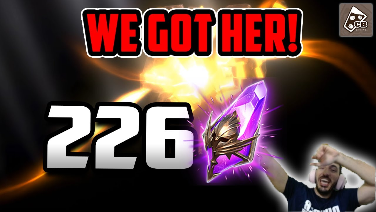 We got HER! SSS Tier Legendary from 226 Void Shards | RAID SHADOW LEGENDS