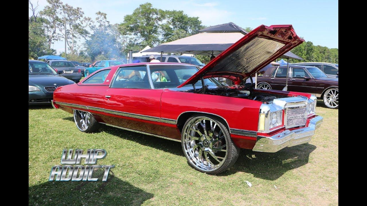 WhipAddict: Kandy Red 74' Chevrolet Impala Donk on Forgiato 26s with Major  Beat!