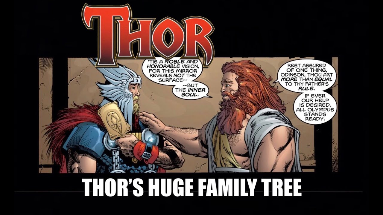 Why Thor is Zeus' Uncle, Vishnu's Brother, Ra's Brother, and More